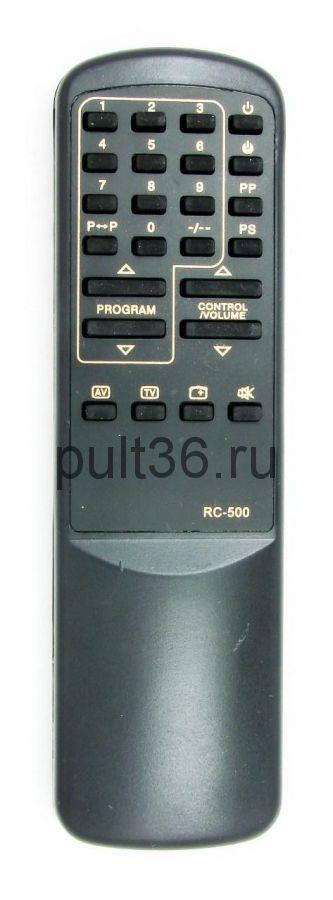 RUBIN (РУБИН) RC-500 пульт без телетекста