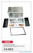 Carav 14-003 (2DIN Универсальная рамка, шахта)