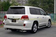 Выхлопная система Ganador GDE-136 A для Toyota Land Cruiser 200
