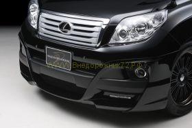 Аэродинамический обвес WALD Black Bison Edition для Toyota Land Cruiser Prado 150 2010