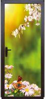 Наклейка на дверь - Весна | магазин Интерьерные наклейки