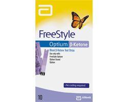 Free Style optium (ketone) Тест-полоски N10