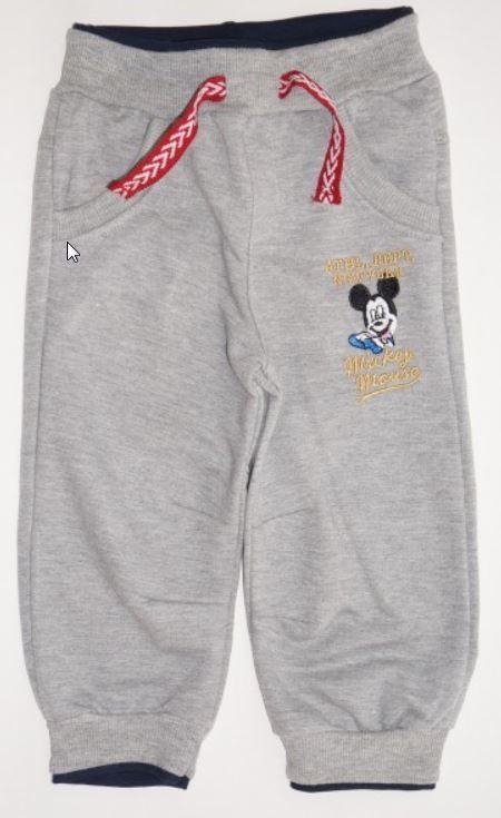 Детские серые штаны Mickey