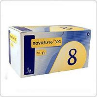 """Иглы """"НовоФайн"""" (Novofine) 30G 8мм – 100 шт"""