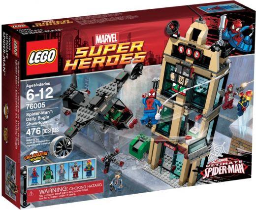 76005  Человек-паук: Решающий бой у Дейли Багл Конструктор ЛЕГО Супергерои