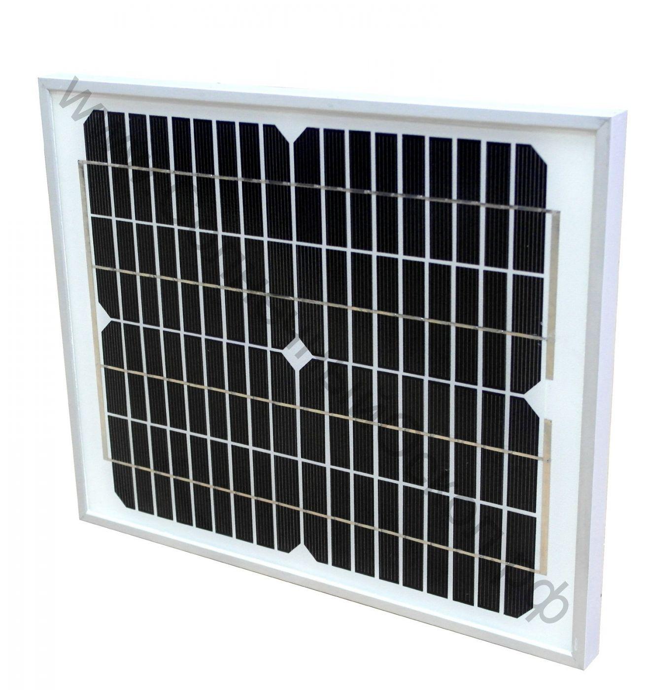 Солнечная панель 10 Вт 12 В (mono-Si)