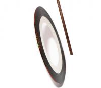 Декоративная самоклеющаяся лента (0,8 мм) №24 Цвет: бронзовый голограмма