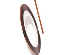 Декоративная самоклеющаяся лента (0,8 мм) №29 Цвет: бронзовый