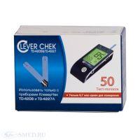 Тест-полоски Clever Chek (Клевер Чек) универсальные подходят к двум глюкометрам Clever Chek (Клевер Чек) TD-4209 и TD-4227A.
