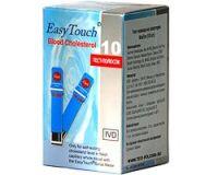 EaSyTouch (ИзиТач) 10 тест-полосок на холестерин