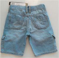 джинсовые бриджи синие