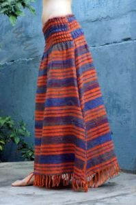 NEW! Длинная тёплая полосатая юбка, разные цвета