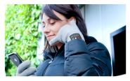 Гарнитура перчатки hi call