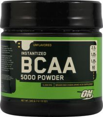 Optimum Nutrition - BCAA 5000 Powder