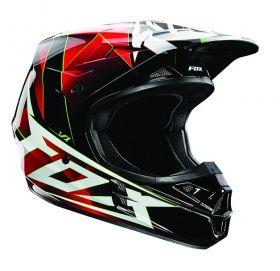 Мотошлем Fox Racing V1 Radeon Helmet ECE red