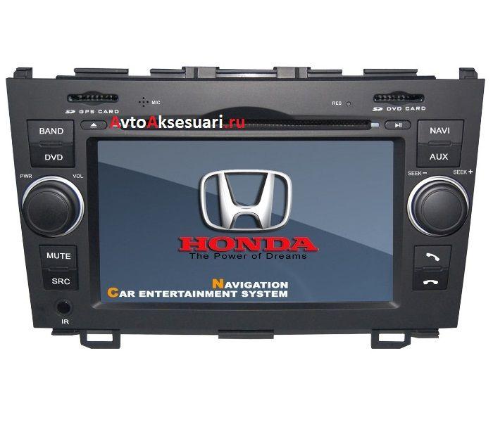 Штатная магнитола для Honda CRV