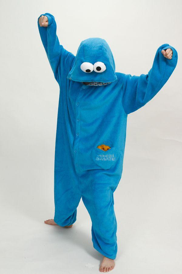 """Кигуруми """"Cookie Monster"""""""