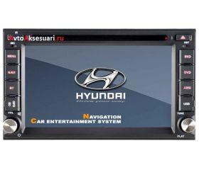 Штатная магнитола для Hyundai Elantra 00-06/ Santa Fe 00-06/ Sonata 99-05