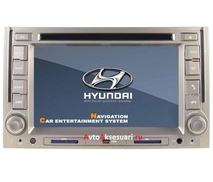 Штатная магнитола для Hyundai Starex 07-12