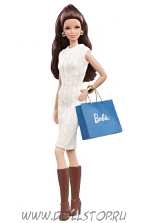 "Коллекционная кукла Барби ""Шопинг в городе"", Брюнетка - City Shopper Barbie Doll - Brunette"