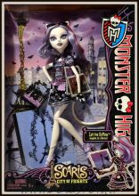 Кукла Монстр Хай Катрин ДеМяу - Скариж Город Страхов - Monster High Catrine DeMew Scaris City of Frights