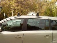 Багажник на крышу Opel Zafira, Атлант, прямоугольные дуги