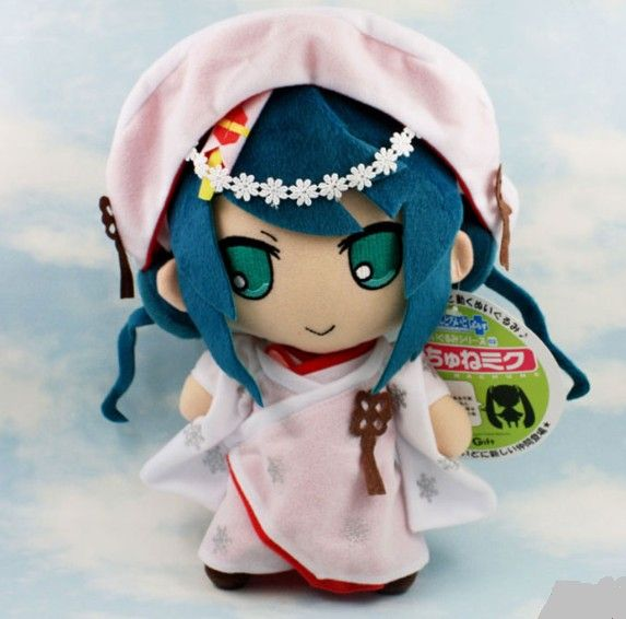 "Плюшевая игрушка ""Miku Hatsune kimono ver."""