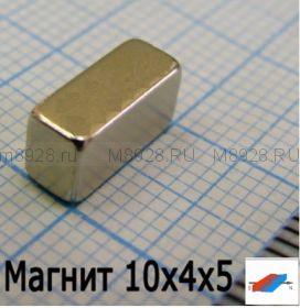 Магнит N33 10x4x5мм