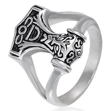 Перстень Кельтский молот (Молот Тора)