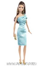 Коллекционная кукла Барби Зеленое платье - The Barbie Look  Collection, Red Carpet - Green Dress