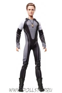 Коллекционная кукла Барби:  Голодные игры - И вспыхнет Пламя Пита - Hunger Games: Catching Fire Peeta Doll