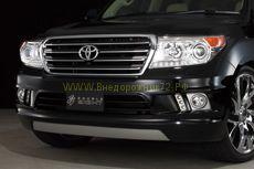 Аэродинамический обвес Duble Eight Ver 1 для Toyota Land Cruiser 200