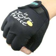 """Перчатки без пальцев для велосипедистов """"Tour de France"""""""