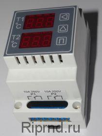 Терморегулятор ИРТ-2К (2х-кан)