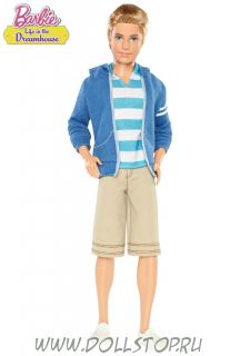 Коллекционная кукла Кен в Доме мечты Barbie Life in the Dreamhouse Ken Doll