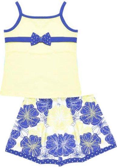 Топ и юбка для девочки