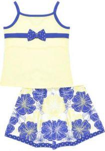 Топ и юбка для девочки Черубино