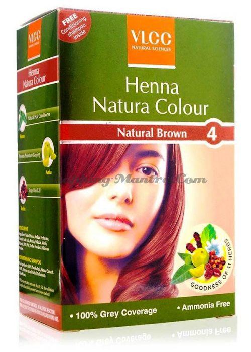 Натуральная краска для волос на основе хны VLCC (3 варианта тона)