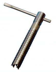 Ввёртыш (130 мм,нержавеющая сталь) подвижная ручка
