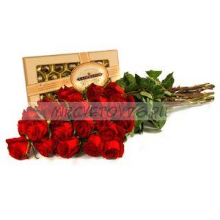 """Букет """"С любовью"""" 23 розы"""