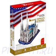 CubicFun. 3D пазлы. Соборы и храмы. Собор Святого Патрика