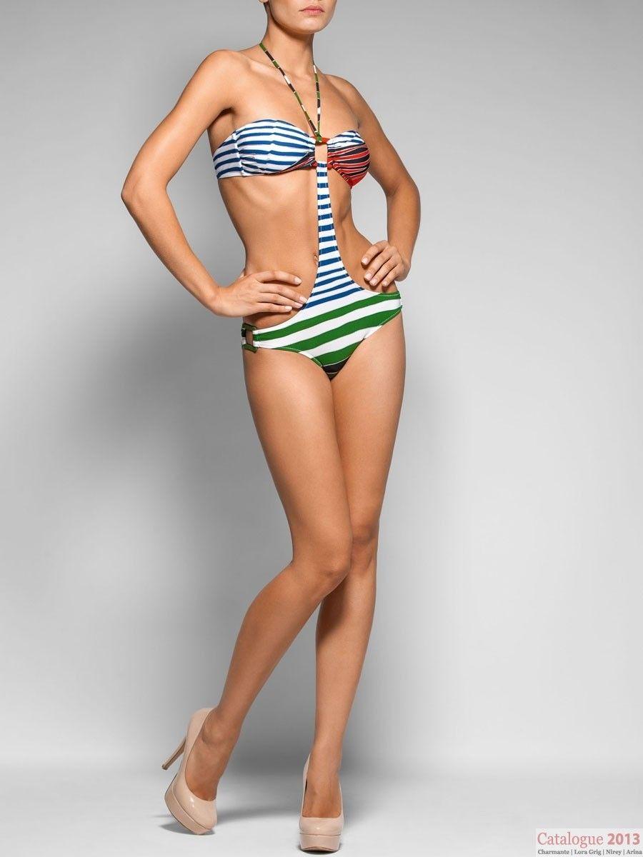 Купальник женский (трикини) Lora Crig WPBS041303 LG Salvia DSK (купальник Лора Григ)