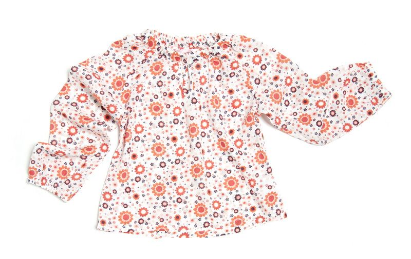 Блузка для девочки Цветочек