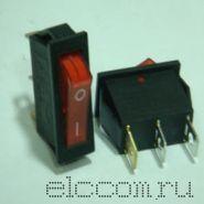 Выключатель малая кнопка (красная)