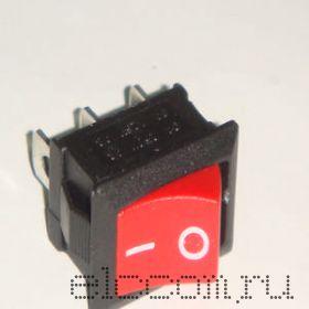 Выключатель большая кнопка (красная)