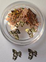 "Логотип  ""Бабочки узоры"", 25 штук"