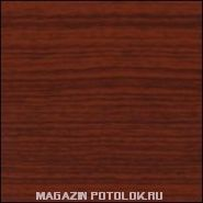 Пристенный П-профиль к рейке ППР-084, красное дерево