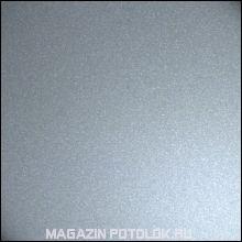 """Реечный потолок """"Бард"""", 10 см., серебро металлик, 3 м."""