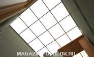 Акриловая полупрозрачная потолочная плита (акриловый потолок)
