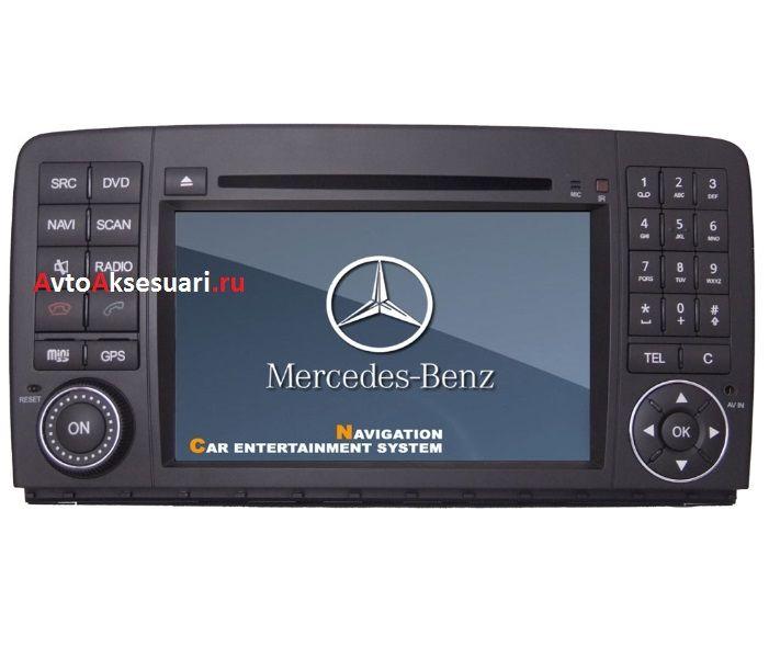 Штатная магнитола для Mercedes Benz R350